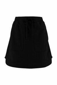 Alberta Ferretti Cotton Mini Skirt