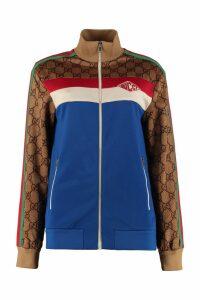 Gucci Techno Fabric Full-zip Sweatshirt