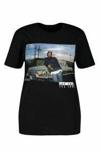 Womens Plus Ice Cube License T-Shirt - black - 24, Black
