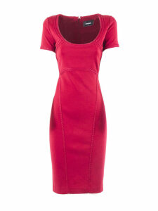 Dsquared2 Red Fabric Dress