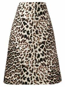 Prada Skirt Leopard