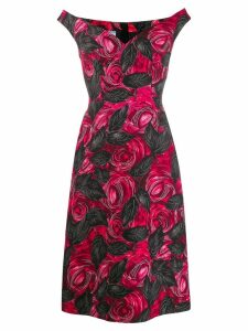 Prada Dress Dark Rose