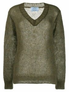 Prada V Neck Sweater