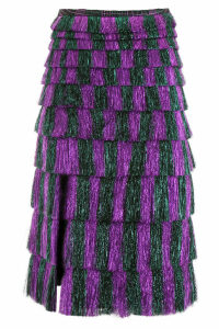 Marco de Vincenzo Fringed Skirt