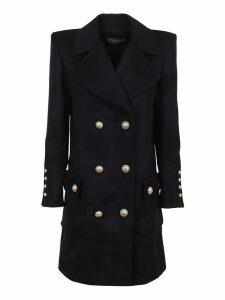 Balmain 6 Btn Wool & Cashmere Coat