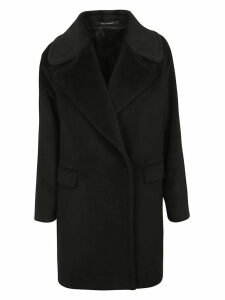 Tagliatore Wide Lapel Coat