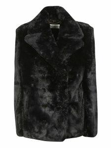 Saint Laurent Fur Blazer