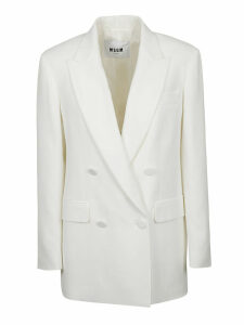 MSGM Double Breasted Blazer