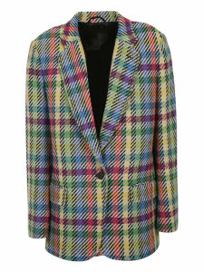 The Attico Patterned Blazer