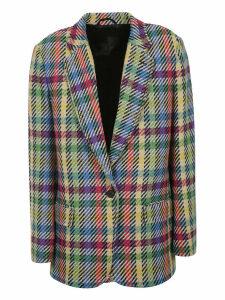 The Attico Patterned Blazer