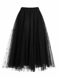 Parosh Skirt Tulle W/star Embroidery