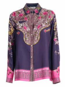 Versace Collection Shirt L/s Flowers Printing