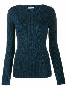 Parosh Lurex Roundneck Sweater
