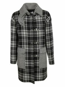 MSGM Checked Duffle Coat