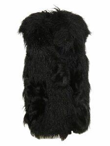 Stella McCartney Aurora Waistcoat Shaggy Alter Fur