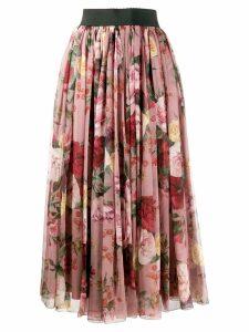 Dolce & Gabbana Chiffon Skirt