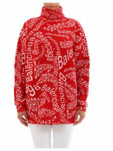 Balenciaga Pullover Logo Wave