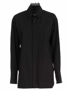 Ys Shirt L/s Collar Lace