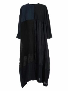Daniela Gregis Dress S/s Crew Neck W/patch