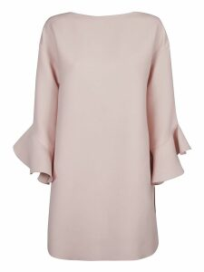 Valentino Rear Zipped Dress