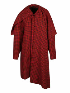 Balenciaga Houndstooth Coat