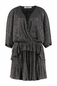 IRO Spina Lurex Knit Dress