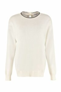 Brunello Cucinelli Cashmere Crew-neck Sweater