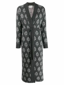 Be Blumarine Jacquard Coat