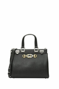 Gucci Gucci Zumi Grainy Leather Small Top Handle Bag