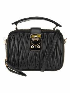 Miu Miu Matelassé Nappa Leather Beauty Case