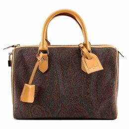 Etro Bauletto Book Paisley Handbag