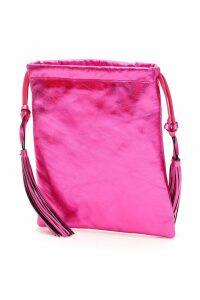 The Attico Laminated Nappa Mini Bag
