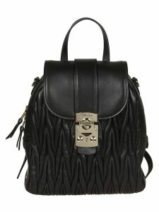 Miu Miu Quilted Backpack