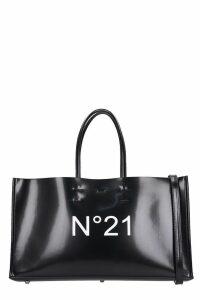 N.21 Tote In Black Leather