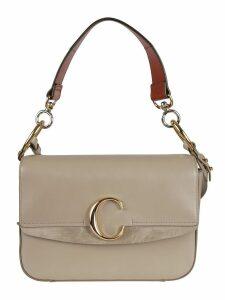 Chloé Logo Plaque Shoulder Bag