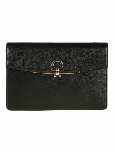 Salvatore Ferragamo Foldover Shoulder Bag