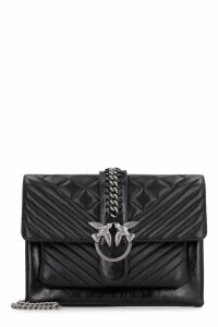Pinko Big Love Quilted Leather Bag
