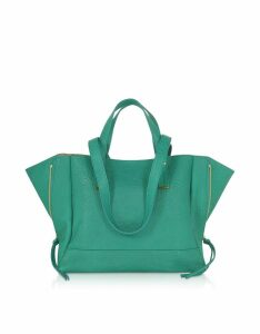 Jerome Dreyfuss Georges M Lagon Leather Tote Bag