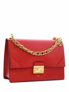 Fendi Medium Kan U Bag Red