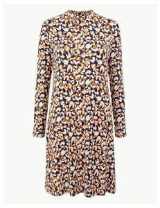 M&S Collection Animal Print Swing Dress