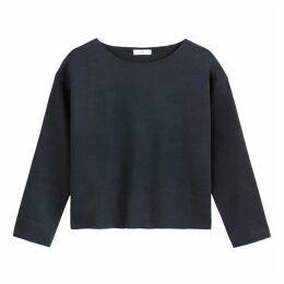 Plain Boxy Sweatshirt