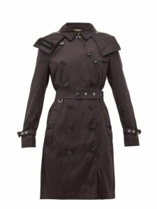 Burberry - Kensington Eco Nylon Trench Coat - Womens - Black