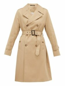 Maison Margiela - Belted Gabardine Trench Coat - Womens - Camel