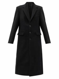 Wardrobe. nyc - Single-breasted Virgin Wool-felt Overcoat - Womens - Black