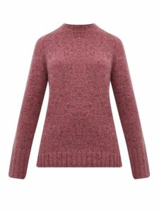 Gabriela Hearst - Donegal Marled Cashmere Sweater - Womens - Pink