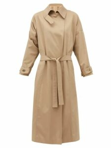 Preen By Thornton Bregazzi - Savannah Twill Trench Coat - Womens - Beige Multi
