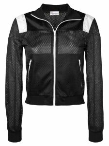 Red Valentino Miss You mesh sports jacket - Black