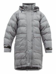 Adidas By Stella Mccartney - Longline Padded Coat - Womens - Grey
