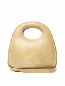 Lemaire - Egg Cracked Leather Bag - Womens - Brown