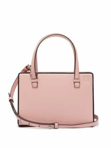 Loewe - Postal Small Leather Bag - Womens - Pink